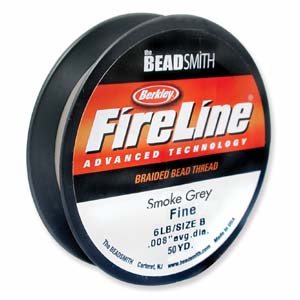 fireline beading thread