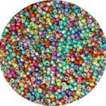 Size 8 Toho japanese seed beads, PF matte mix