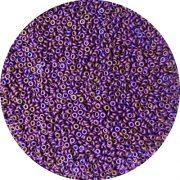 demi round 11 matte raku cabernet beads