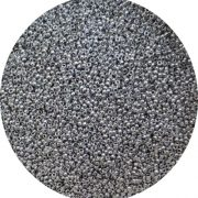 Miyuki seed beads with Czech silver coating 15-27000