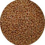 Toho Demi Round beads size 8 Lt copper PF551