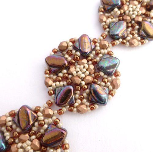beading kit, bracelet bronze