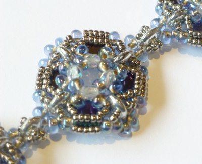 beading bracelet kit ice blue