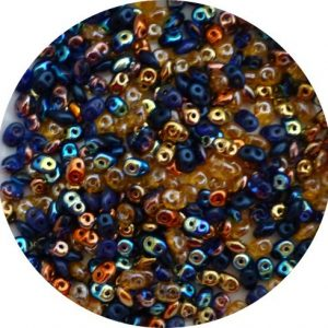 Superduo beads, notre dame mix sd-mix-176