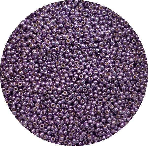 Toho Perma finish japanese seed beads size 11 - Lilac 11-pf579