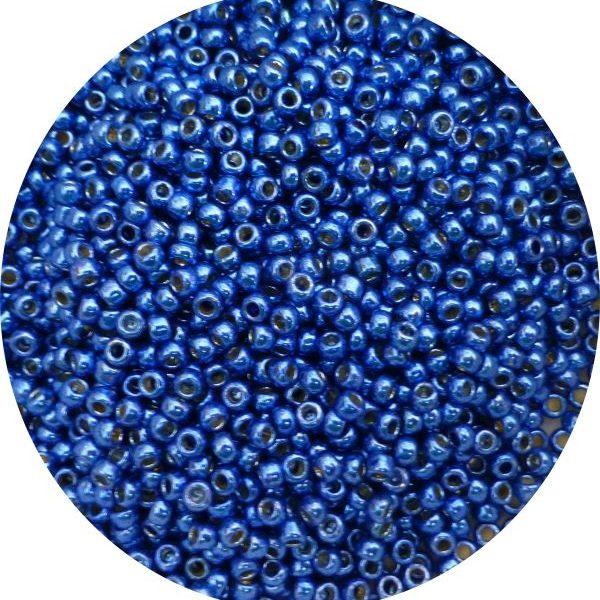 Toho Perma finish japanese seed beads size 8 - Cobalt 8-pf586