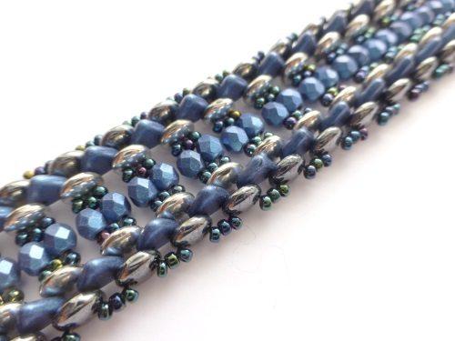 bracelet beading kit blue
