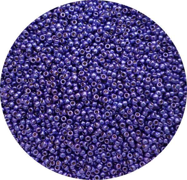 Toho Perma finish japanese seed beads size 11 - Vibrant purple 11-pf581