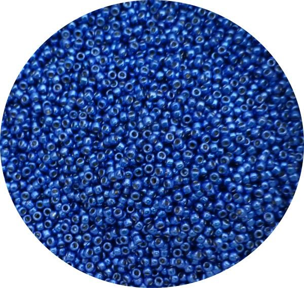 Toho Perma finish japanese seed beads size 11 - Cobalt 11-pf586