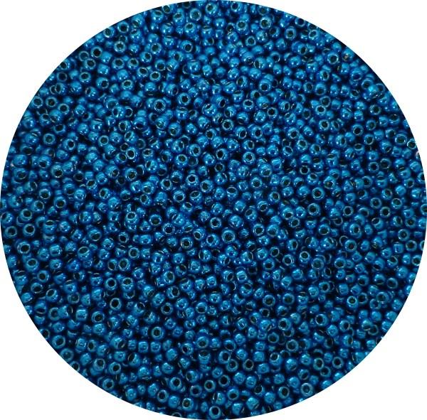 Toho Perma finish japanese seed beads size 11 - Electric Blue 11-pf583