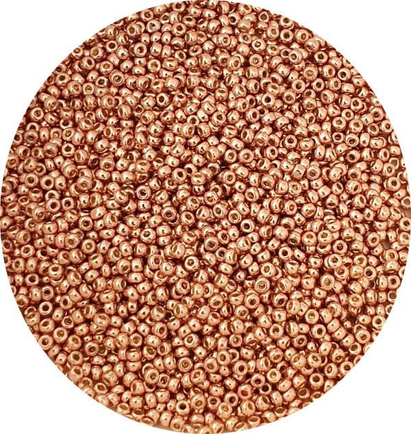 Miyuki Size 11 Seed Bead, Duracoat Bright Copper, 11-DC5103