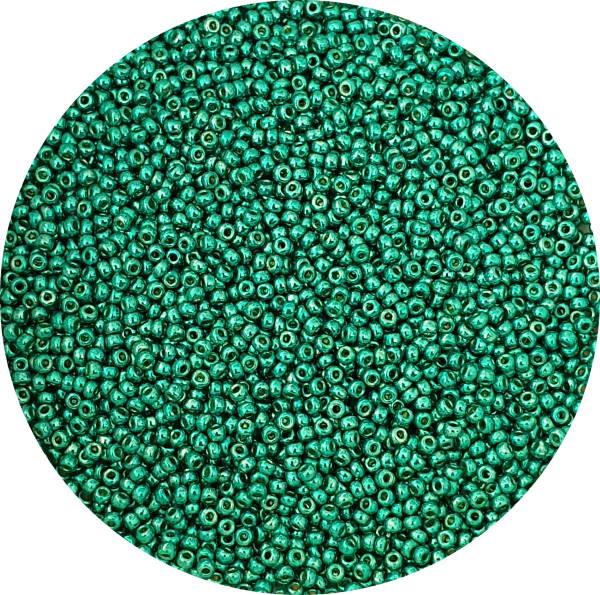 Miyuki Duracoat, Size 11 Seed Bead, Dark Aqua Green, 11-DC5106