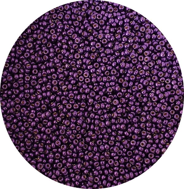 Miyuki, Size 11, Seed Bead, Duracoat Lilac Night, 11-DC5110