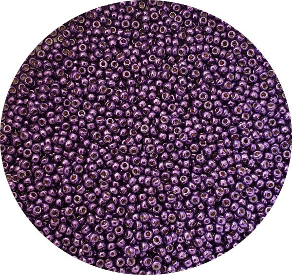 Miyukisize 11 seed beads Duracoat Purple Orchid