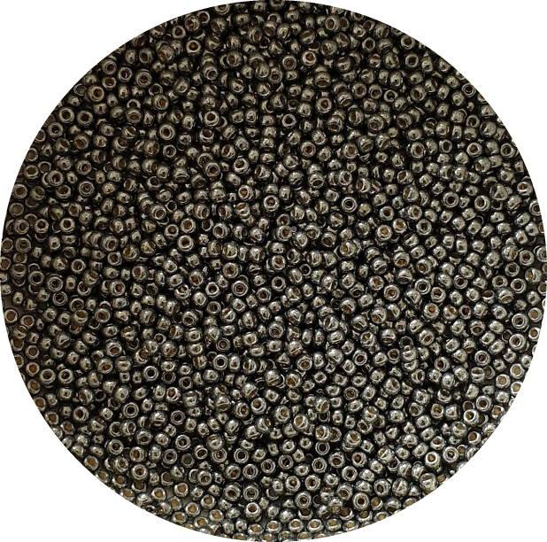 Miyukisize 11 seed beads Duracoat Dark Steel Green