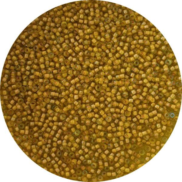 Size 11 Seed Bead, Colourlined Yellow, Toho, 11-302T