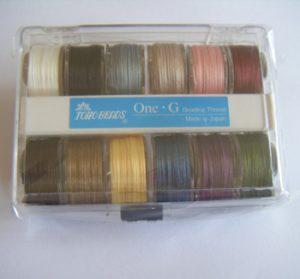 oneg beading thread 12 pack